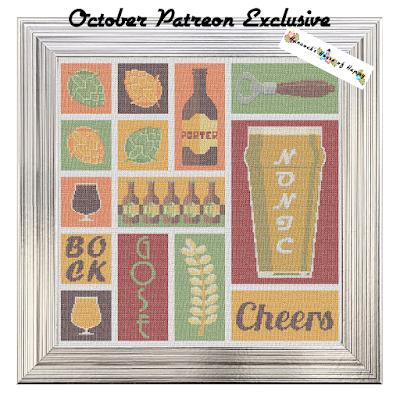 epic craft beer cross stitch pattern