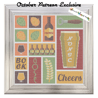 Epic Craft Beer Poster Cross Stitch Pattern