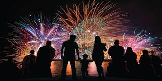 acara tahun baru 2017 di Ancol