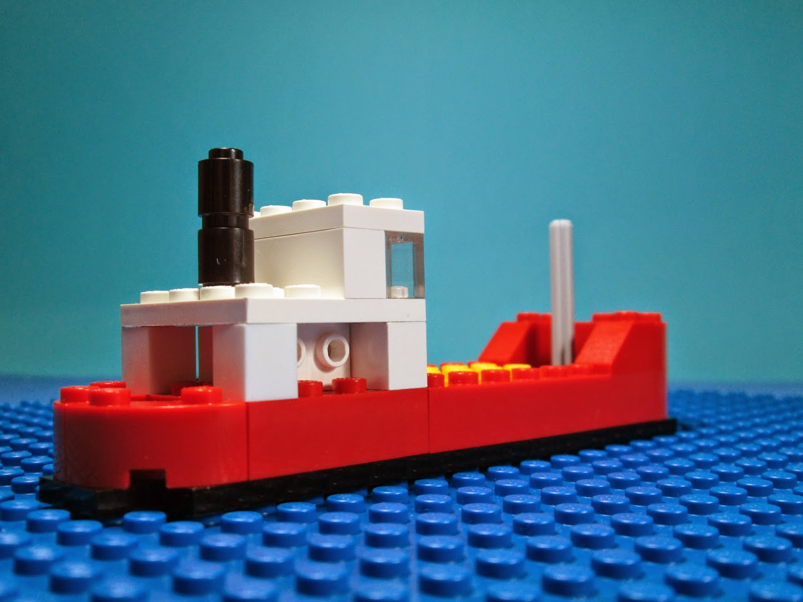 MOD set LEGO Cargo Ship 616