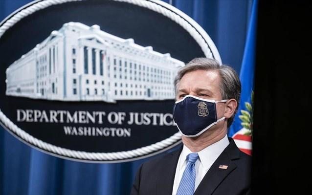 Εισβολή στο Καπιτώλιο: Στη Γερουσία θα καταθέσει ο διευθυντής του FBI
