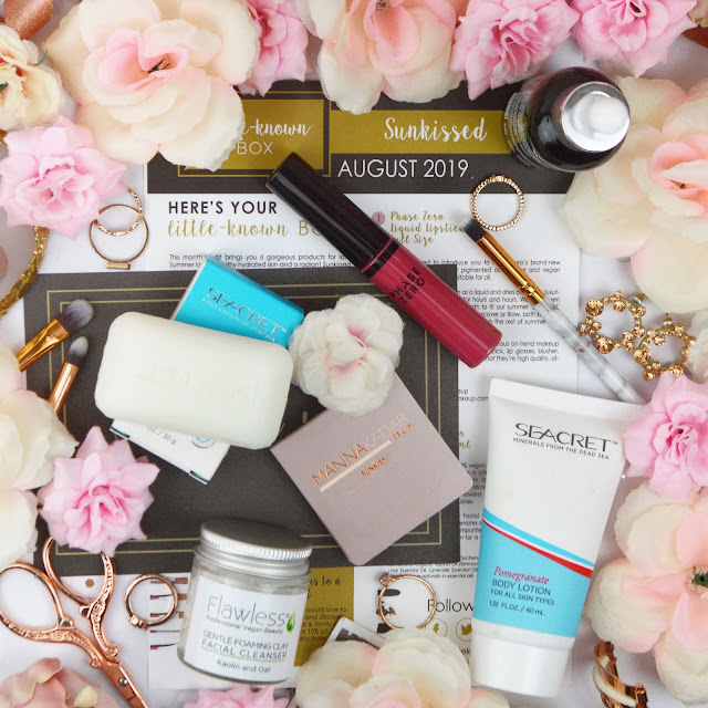 Little-Known Box August 2019 - The Sunkissed Edit, Lovelaughslipstick Blog Review