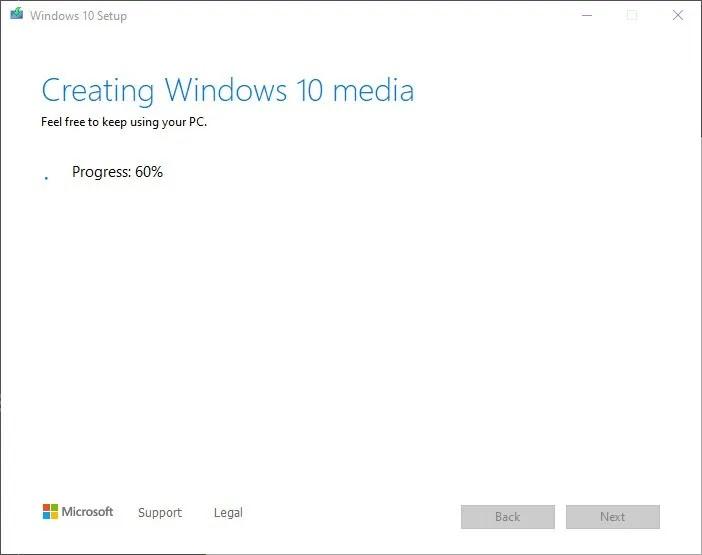 قم بتثبيت Windows 10 2021 الخطوة 7