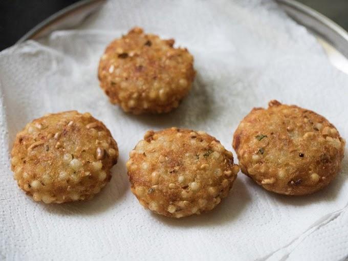 Sabudana Vada  | Fasting Recipes | Healty Food | Maharastrian Food