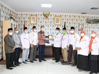 DPD PKS Kota Medan Audiensi ke DPRD Kota Medan