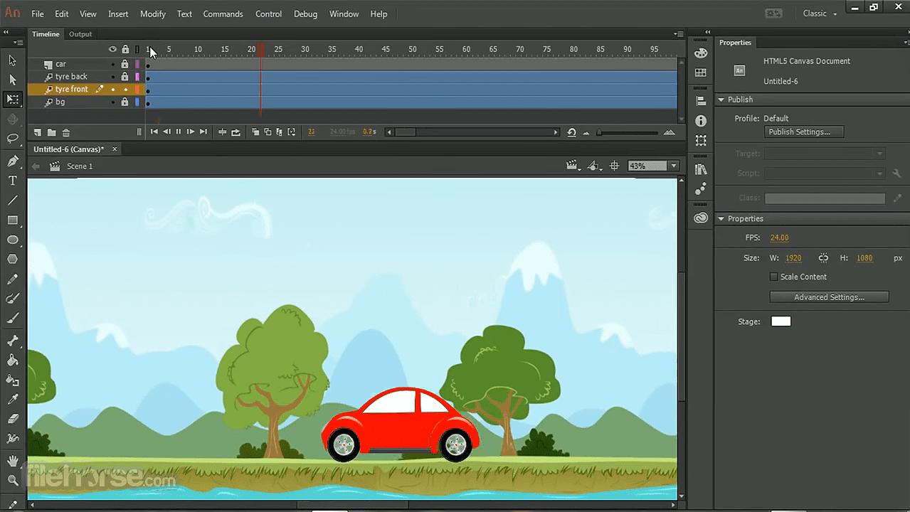 LIGHT DOWNLOADS: Adobe Animate CC 2019.2020 WIN/MAC