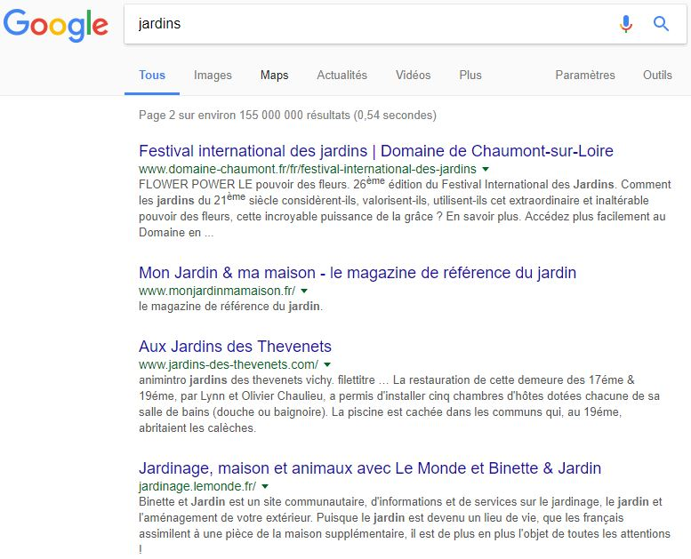 Google Double Le Nombre De Caractres De La Description Du Rsultat