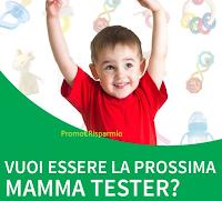 Logo Candidati Mamma Tester di prodotti per l'infanzia con Altroconsumo