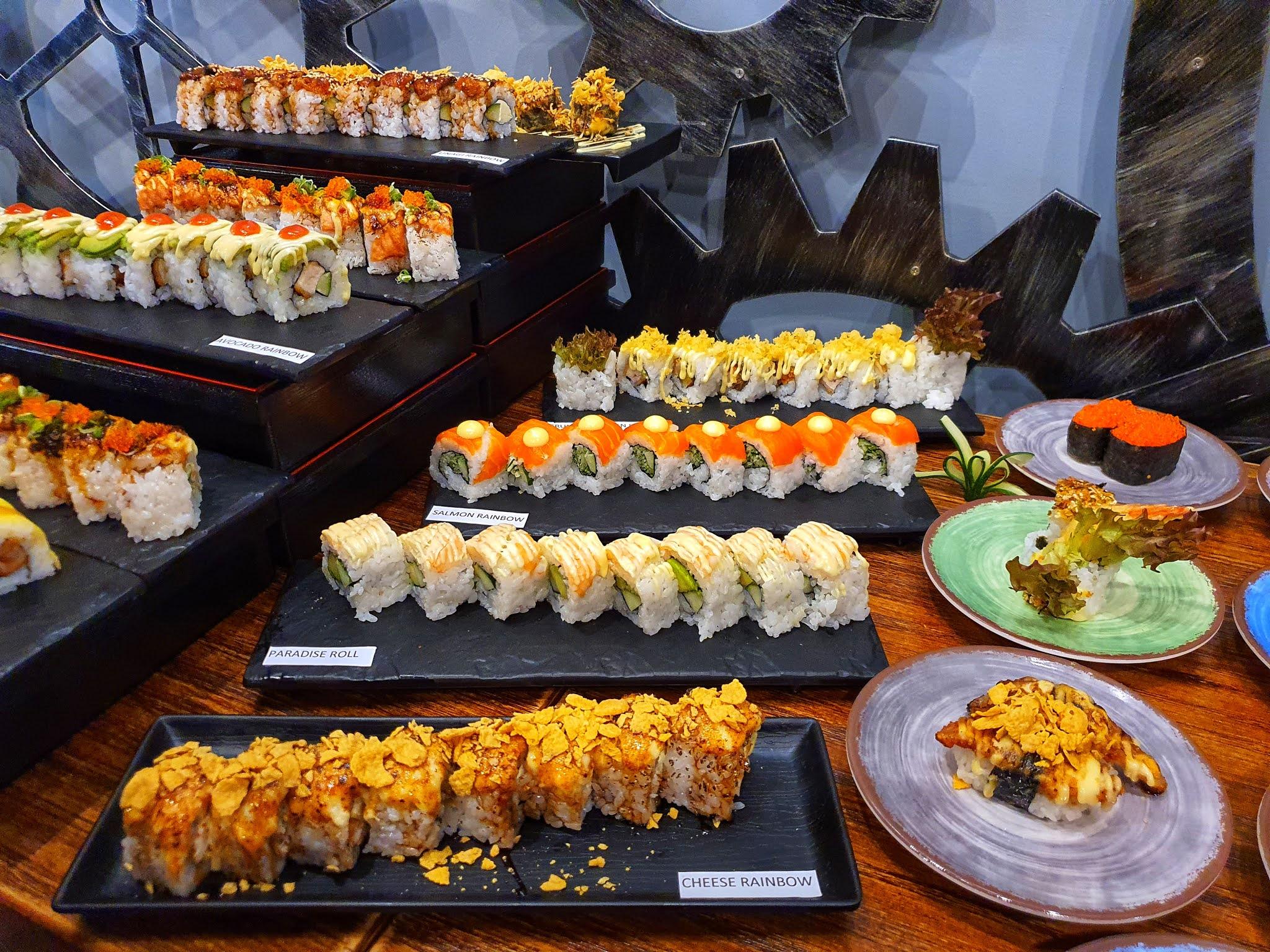 eat sushi menu,