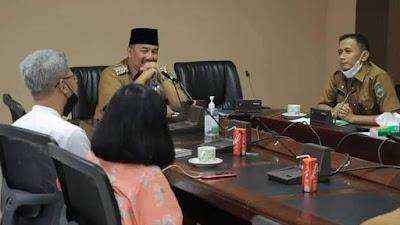 Bupati Pasaman Terima Kunjungan Tim Penilai Lomba Lembaga Adat dari Kemendikbud