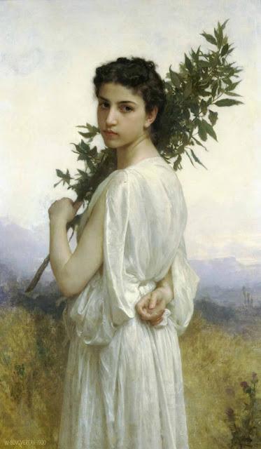 Адольф Вильям Бугро - Лавровая ветвь (1900)