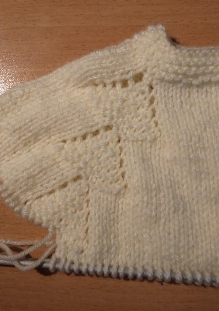 Knitting Yrn K2tog : Marianna s lazy daisy days cute version of max baby cardigan