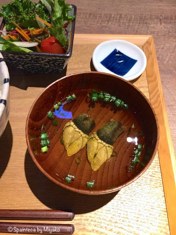 Percebes 亀の手と呼ばれるスペイン珍味ペルセベスの日本風お吸い物