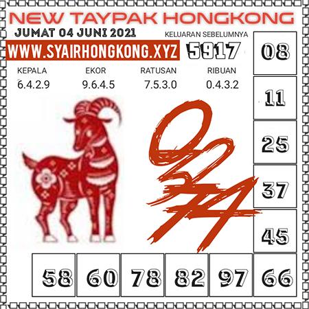 Prediksi New Taypak Hongkong Jumat 04 Juni 2021
