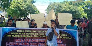AMUK NTB Laporkan Hakim PN Mataram ke KPK Hingga Presiden