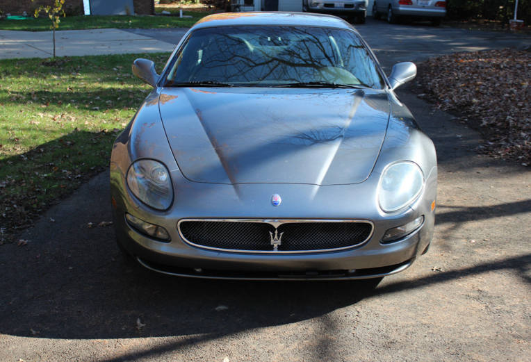 2004 Maserati Coupe 6 Speed manual, Wheels, Exhaust, Vintage package