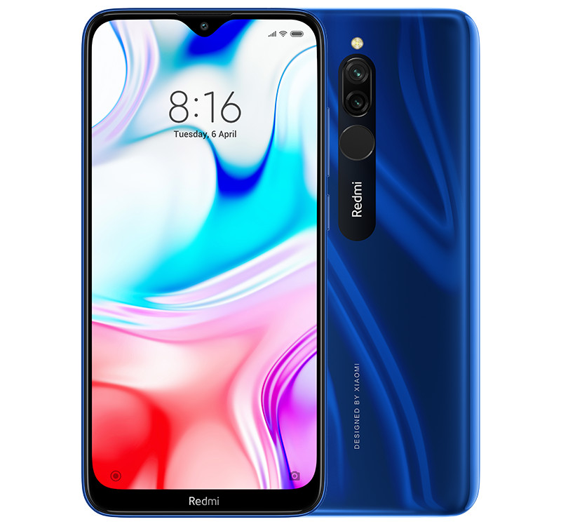 Redmi 8 with 5,000mAh battery and powerful dual-cam announced