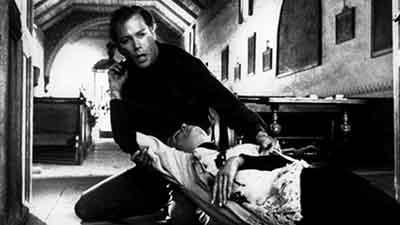 William Shatner en una secuencia de Incubus 1966