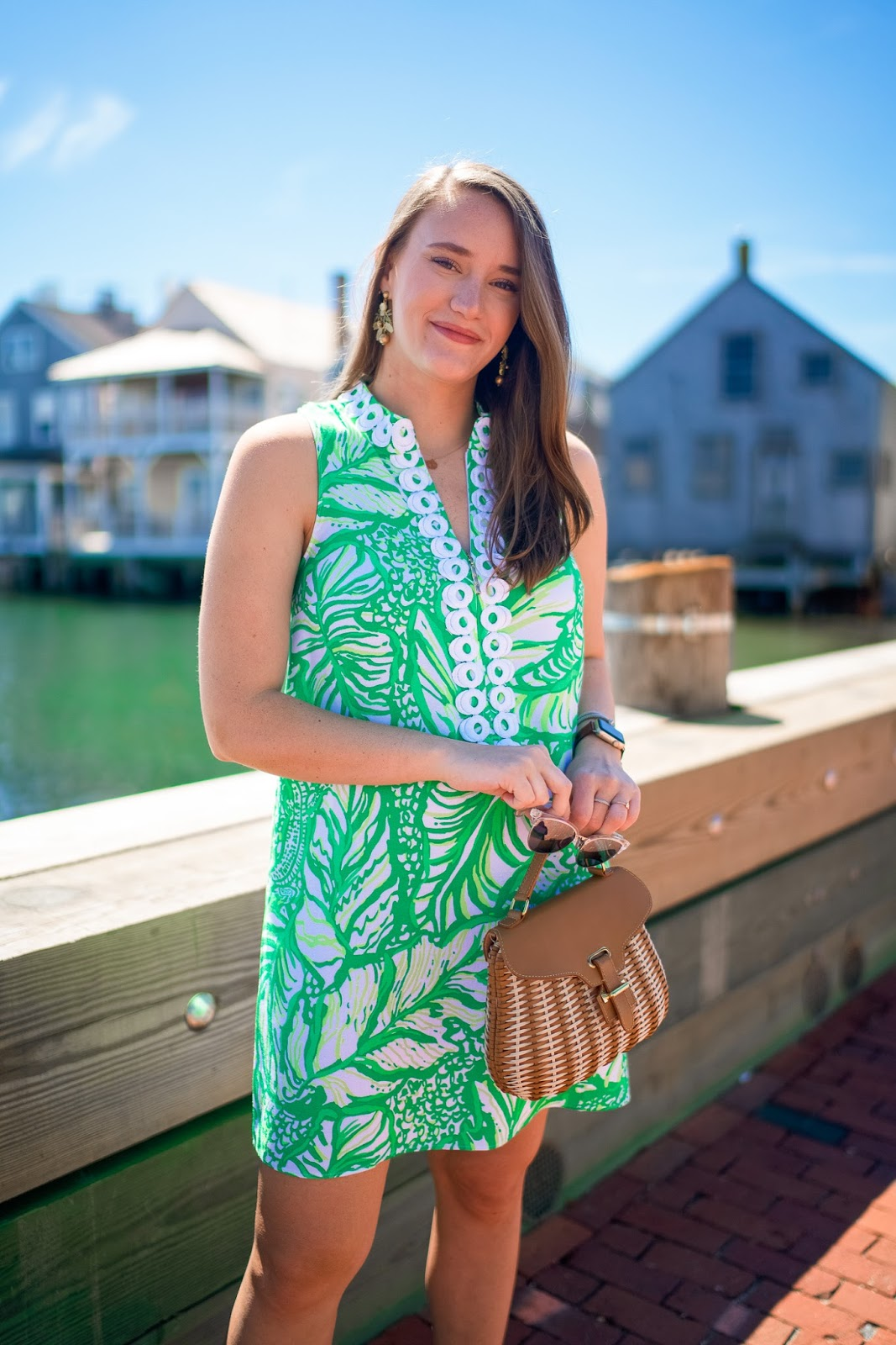Lilly Pulitzer Jane Shift In Nantucket New York City Fashion And Lifestyle Blog