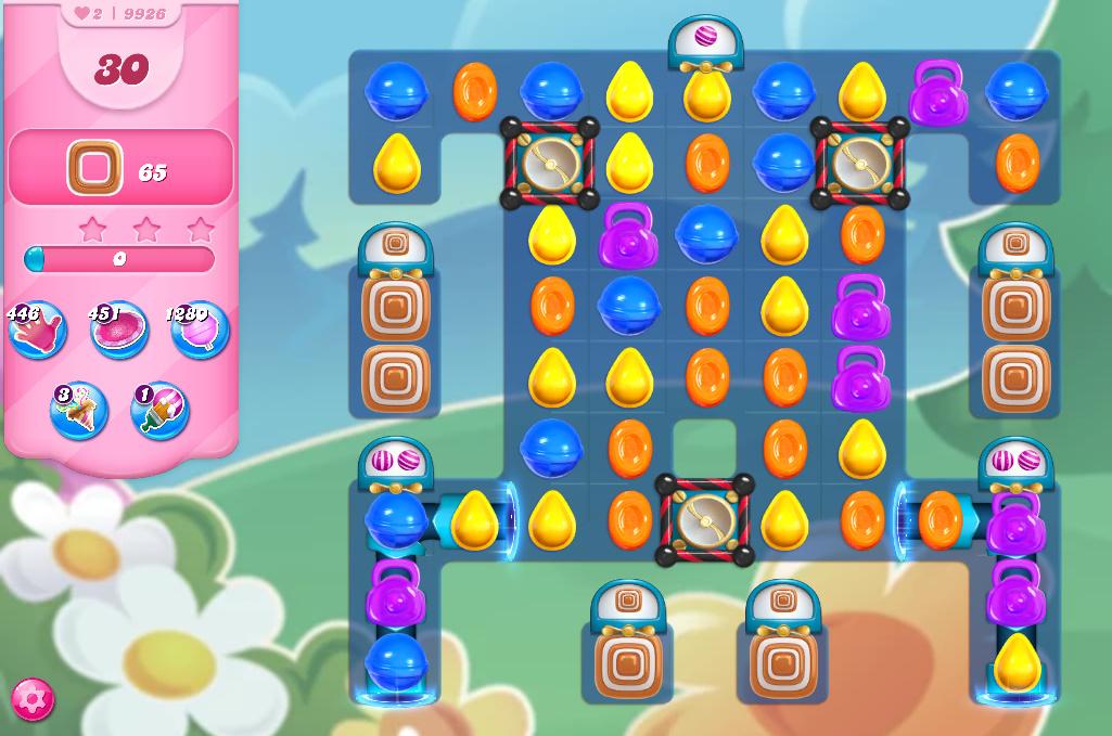 Candy Crush Saga level 9926