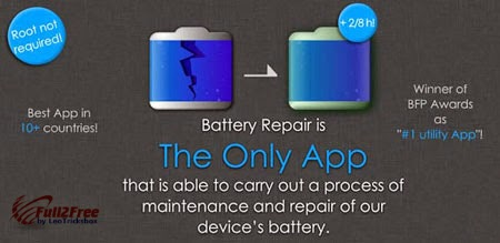 Android App : Battery Repair (Doctor Boost) 2.0