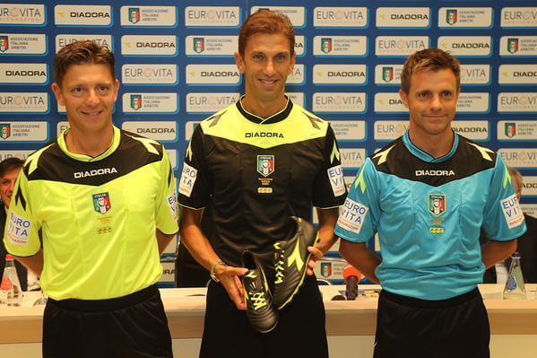 Serie A Referee Kit 2016-2017 PES 2013