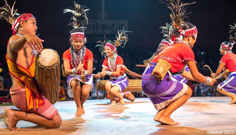 Wangala Folk Dance Meghalaya