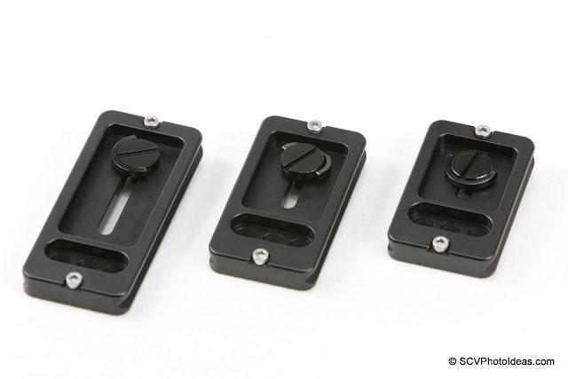 Desmond DLP-60 / 70 / 85 Lens Plates bottom-vew