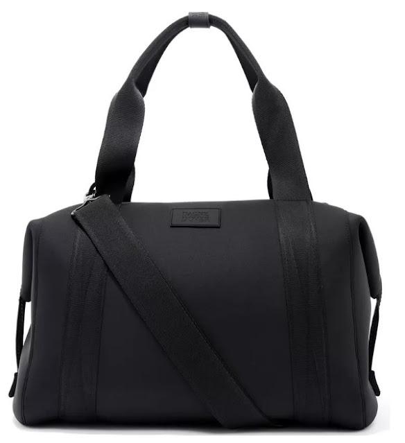 Dagne Dover 365 large Landon neoprene carryall duffle bag