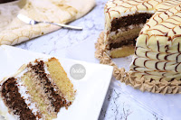 vanillachocolatecake