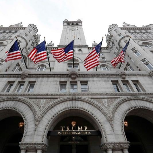 Trump's DC Hotel drops to 2 stars as people leave 'Shithole' reviews