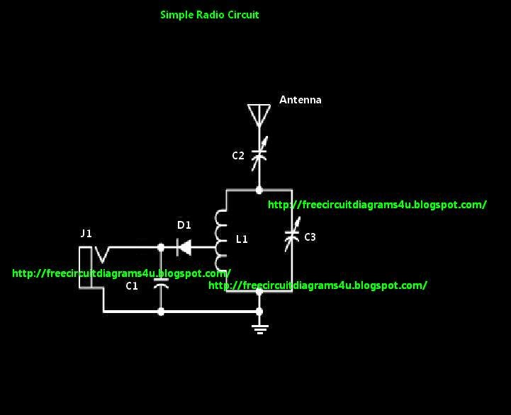 Free Circuit Diagrams 4u Simple Radio Circuit Diagram