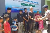 Resimen 1 Paspelopor, Baksos di Hari Lahir Pancasila di Yayasan Pantai Sosial Nurul Ikhlas