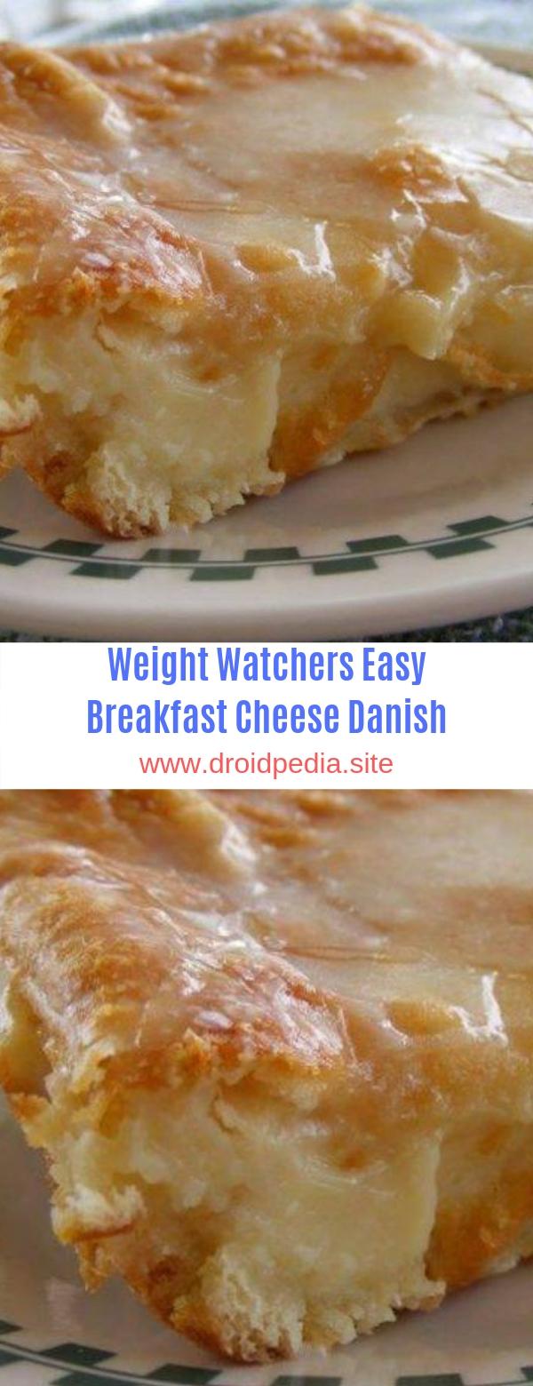 Weight Watchers Easy Breakfast Cheese Danish