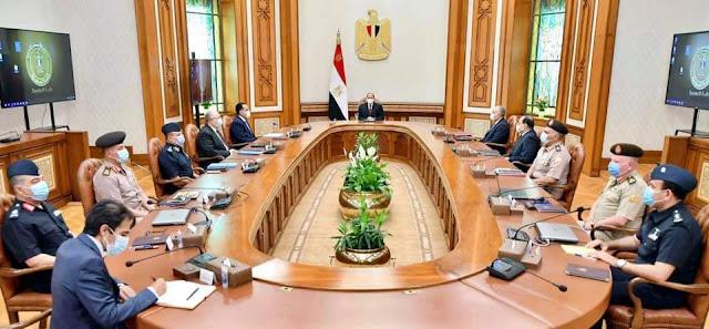 """الرئيس السيسي يتابع المشروع القومي العملاق للإنتاج الزراعي """"الدلتا الجديدة"""""""