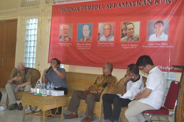 Aktivis PMKRI Luncurkan Draf Usulan Perppu KPK