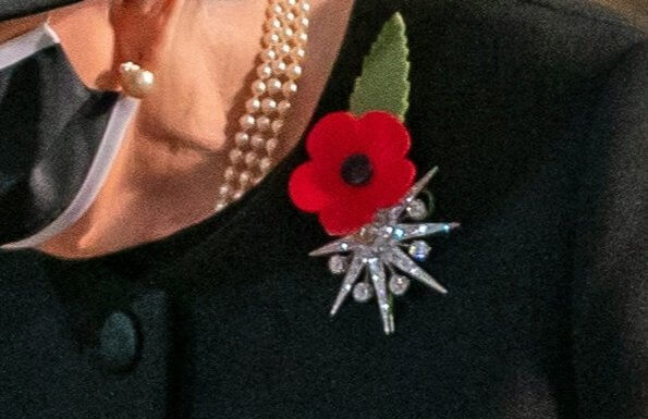The Jardine Star Brooch is a late-Victorian diamond star brooch, which was gifted to Queen Elizabeth by Lady Jardine in 1981