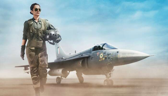 Kangana Ranaut's Tejas First Look