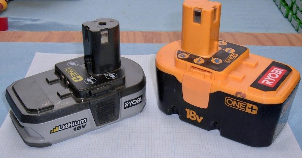 syonyk 39 s project blog ryobi one lithium nicd tool battery teardown. Black Bedroom Furniture Sets. Home Design Ideas