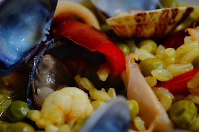 ricetta paella pesce