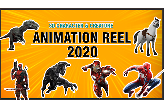3D | Animation Showreel 2020 | Character And Creature | keyframe | HD