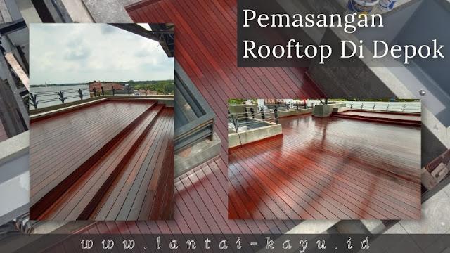 pemasangan rooftop di depok