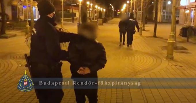 Arcátlan és ügyetlen rablási sorozat Budapesten: három óra alatt három rablás