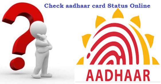 Check aadhaar card Status
