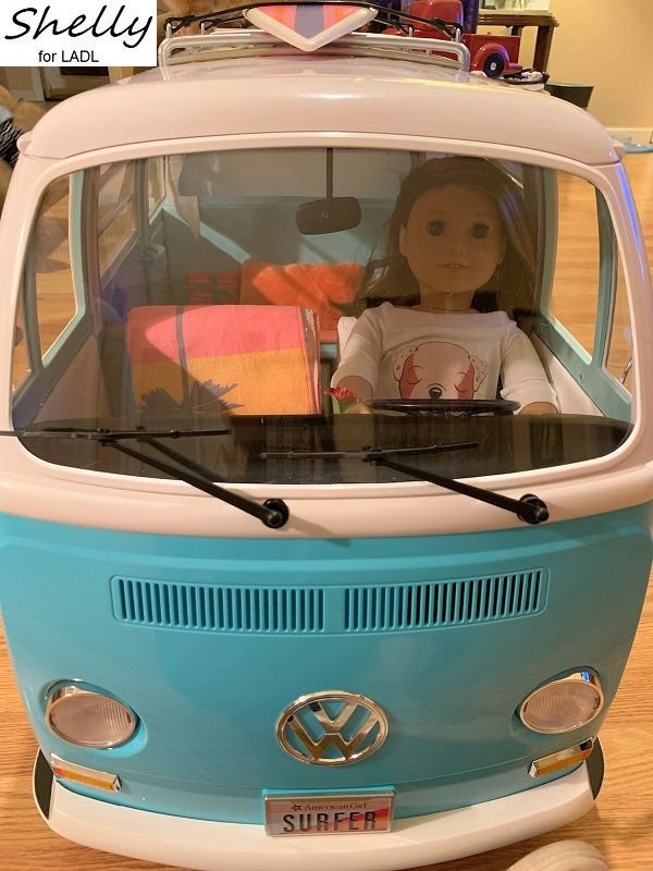 Vw Surf Bus : Living, Doll's, American, Review, VIDEO