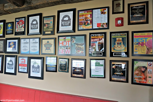Premios de la Taberna Tuckaway Tavern en New Hampshire