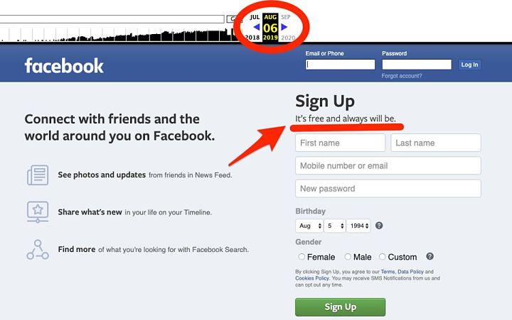 si facebook es gratis como gana dinero