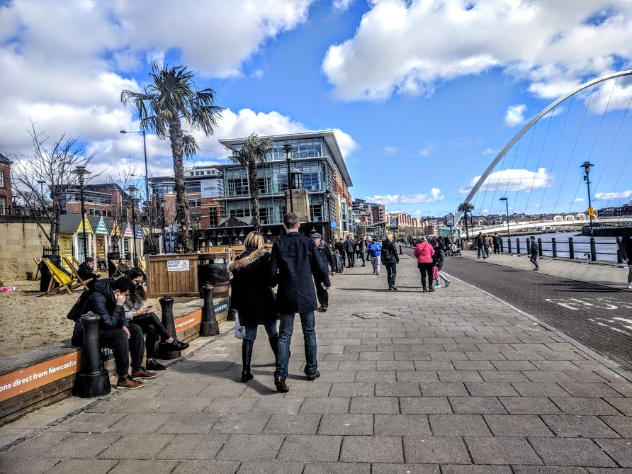 10+ Free Things To Do In Newcastle Upon Tyne - Walk along the Quayside