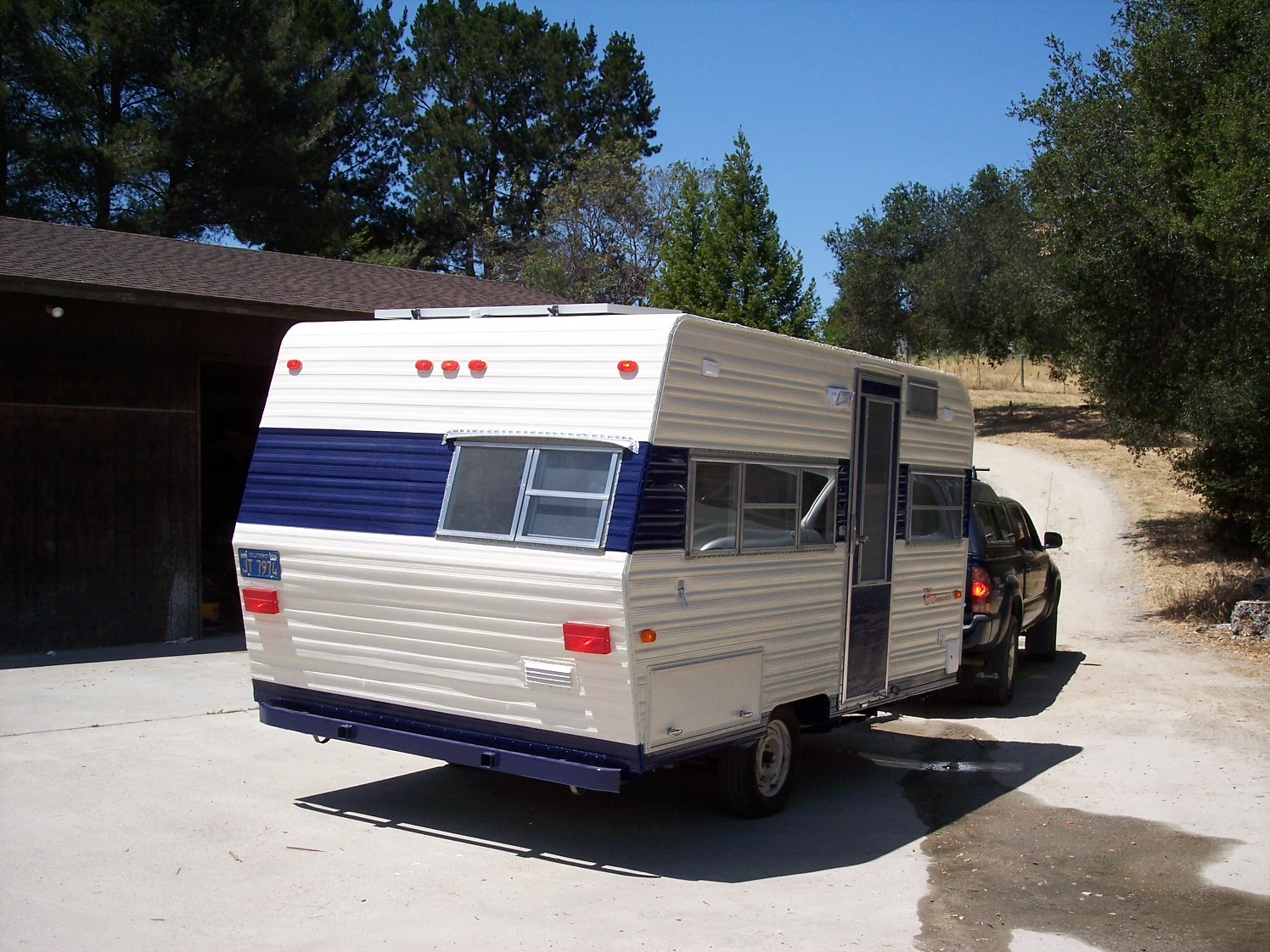 Bullet   Ft Travel Trailer Remodel