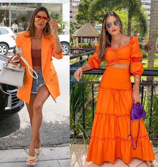 12 Looks coloridos para se inspirar, Alessandra Abrósio, Bianca Dacias